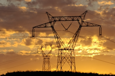 This is an image of a power grid.
