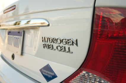 This is an image of a Hydrogen Car.